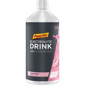 PowerBar Bebida Electrolitos 1l, Strawberry-Lime